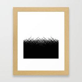 Go To The Dark Side Framed Art Print