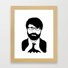 chuck klosterman Framed Art Print