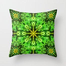 Spring Time Mandala Throw Pillow
