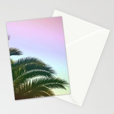 Palm Leaves  - Tropical Sky - Chilling Time Stationery Cards