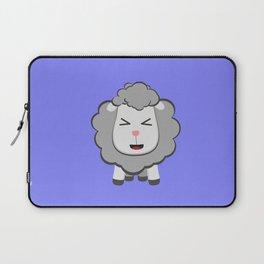 Happy Kawaii Sheep Laptop Sleeve