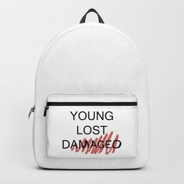 young lost damaged Backpack