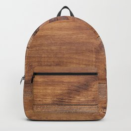 Wood Texture Abstract Backpack