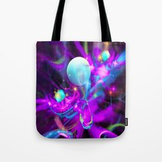The Magic of Newborn Infant Dreams Tote Bag