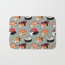 Sushi  Corgi Bath Mat