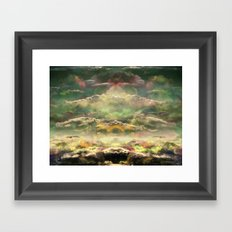 Head in the Clouds by Debbie Porter - Designs of an Eclectique Heart Framed Art Print