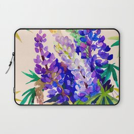 Lupine flowers Laptop Sleeve
