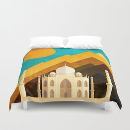 Nature of knowledge Duvet Cover