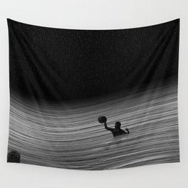Water Polo Wall Tapestry
