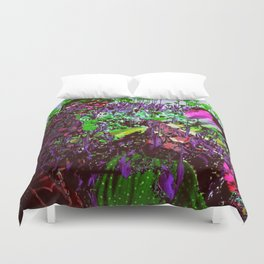 Depths of the Flower Beds Duvet Cover