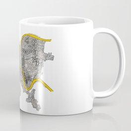 Pittsburgh Neighborhoods | 3 Gold Rivers Coffee Mug