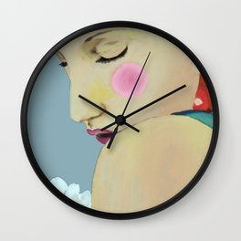 inner self Wall Clock