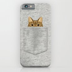 Pocket Tabby Cat iPhone 6 Slim Case