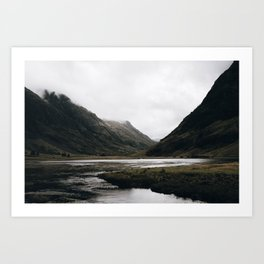 Glen Coe / Scotland Kunstdrucke