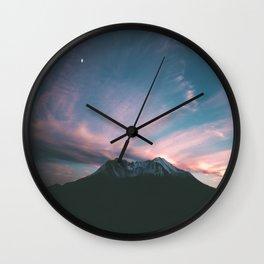 Mount Saint Helens III Wall Clock
