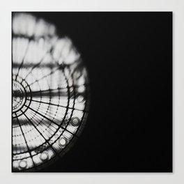half moon Canvas Print