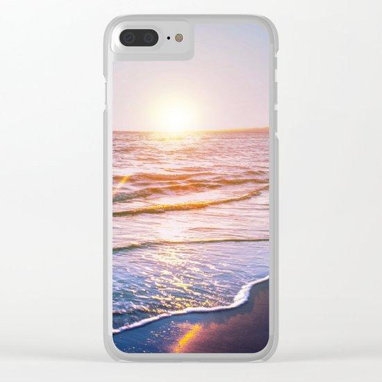 BEACH DAYS IX Clear iPhone Case
