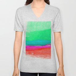 Illusions Of Bliss 1J by Kathy Morton Stanion Unisex V-Neck