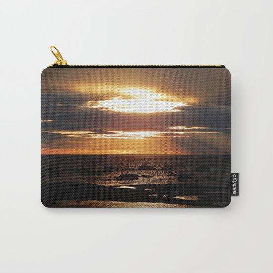 Copper Seascape Delight Carry-All Pouch