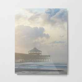 Folly Pier Mist 1 Metal Print