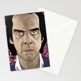 Nick Cave eyes don't lie baby Stationery Cards