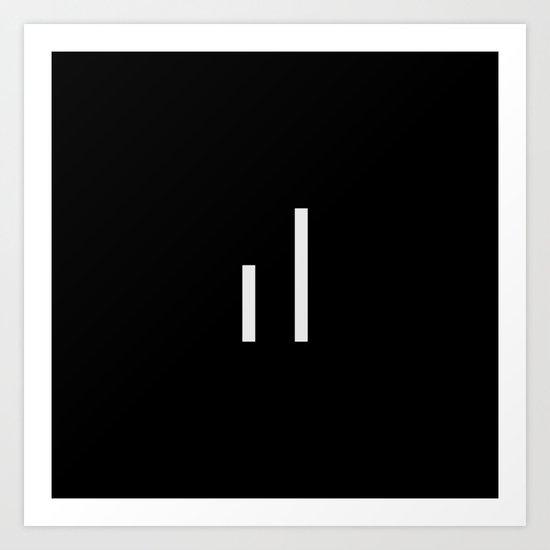 infiniteloop logo Art Print