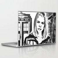 tyler spangler Laptop & iPad Skins featuring Rose Tyler by Grace Thanda