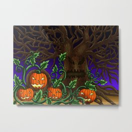 Halloween Artwork #2 (2017) Metal Print