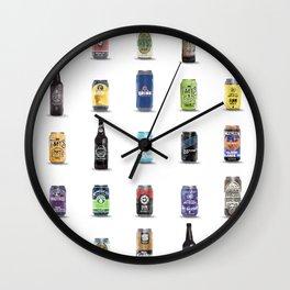 Beers of Cincinnati Wall Clock