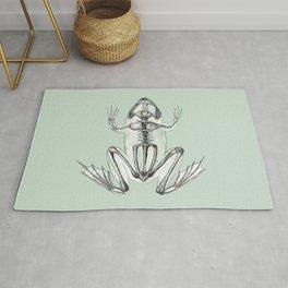 Frog Skeleton: Animal Anatomy Rug
