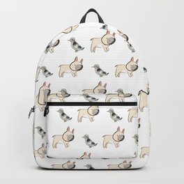George the Frenchie and a NYC Pigeon Backpack