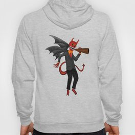 The Devil Appeared Growling Through An Old Megaphone Hoody