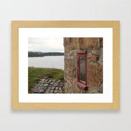 Little Window Framed Art Print