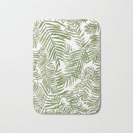 Areca Palm Pattern Bath Mat