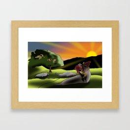 Matt the Conqueror Framed Art Print