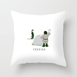 Brute Squad Science Throw Pillow
