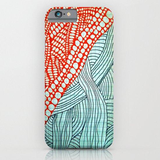 "Hand Drawn ""Orange Stones"" Doodle iPhone & iPod Case"