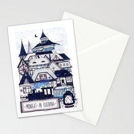 Midnight in Bucovina Stationery Cards