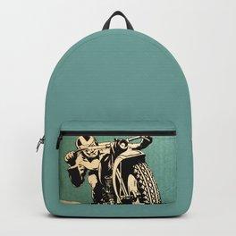 Motorcycle Race Backpack