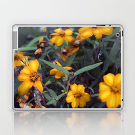 Small Orange Flowers Laptop & iPad Skin
