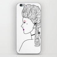 marie antoinette iPhone & iPod Skins featuring Marie Antoinette by Nicholas Darby