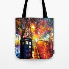 Tardis Full Color Tote Bag