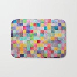 Pattern mosaic Bath Mat