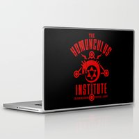 fullmetal Laptop & iPad Skins featuring The Sins of the Father by adho1982