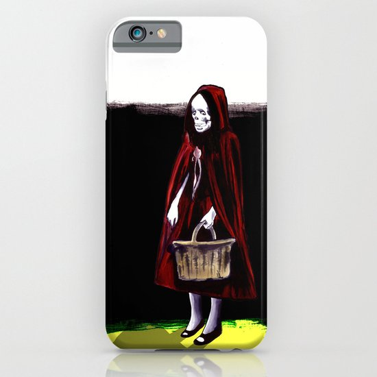 Little Blood Red Riding Hood iPhone & iPod Case