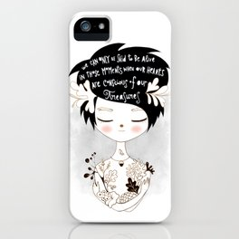 Gracious Gifts iPhone Case