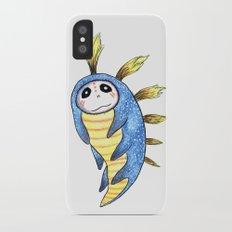Blue Impworm Slim Case iPhone X