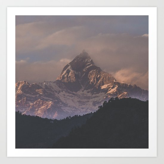 Nepal IV Art Print