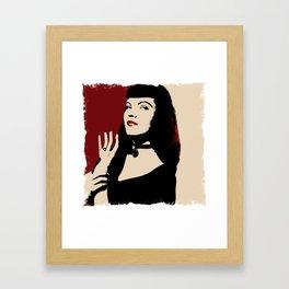 Bettie Framed Art Print