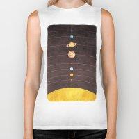 solar system Biker Tanks featuring Solar System by Annisa Tiara Utami